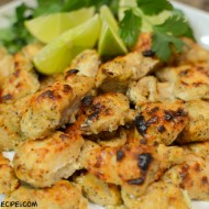 Garlic Yogurt Marinated Chicken Bites