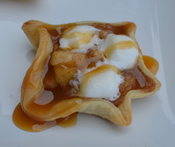 Caramel Apple Marshmellow Tarts