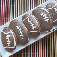 Game Day Snacks: Football Whoopie Pies