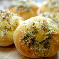 Garlic Parmesan Knots