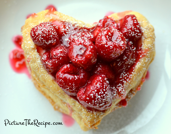 Valentine s day dessert raspberry napoleon small picture the recipe - Desserts valentines day ...