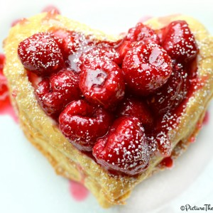 Valentine's Day- Raspberry Napoleon by PictureTheRecipe com 2
