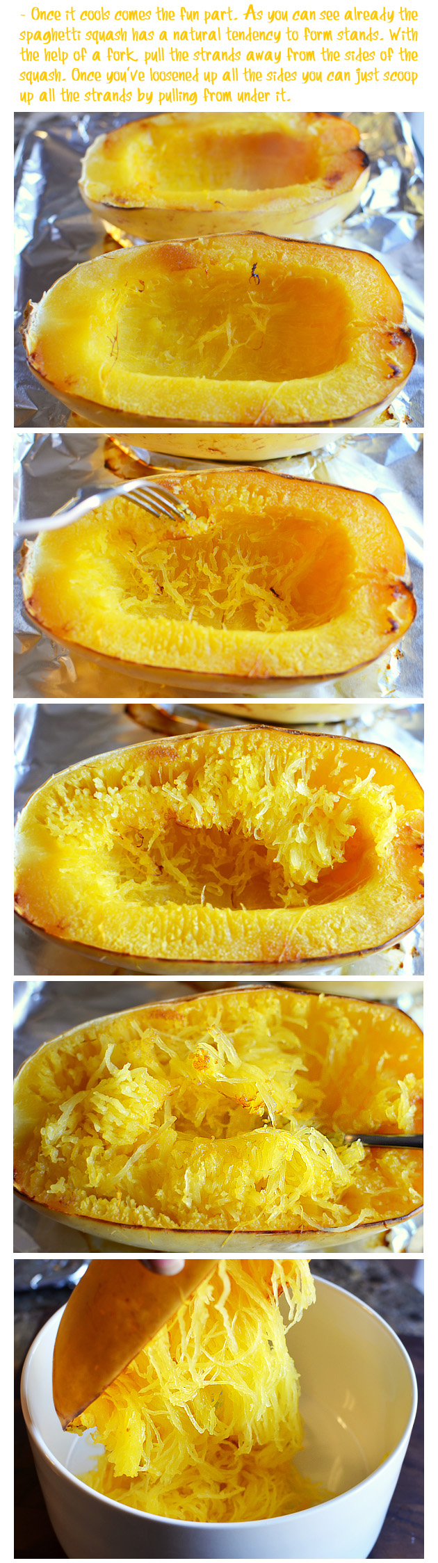 Cooking Spaghetti Squash Picture The Recipe