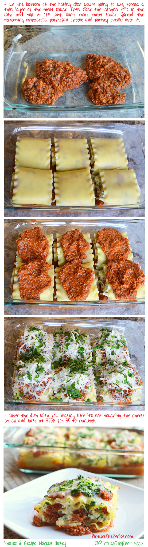 Lasagna Rolls Picture The Recipe