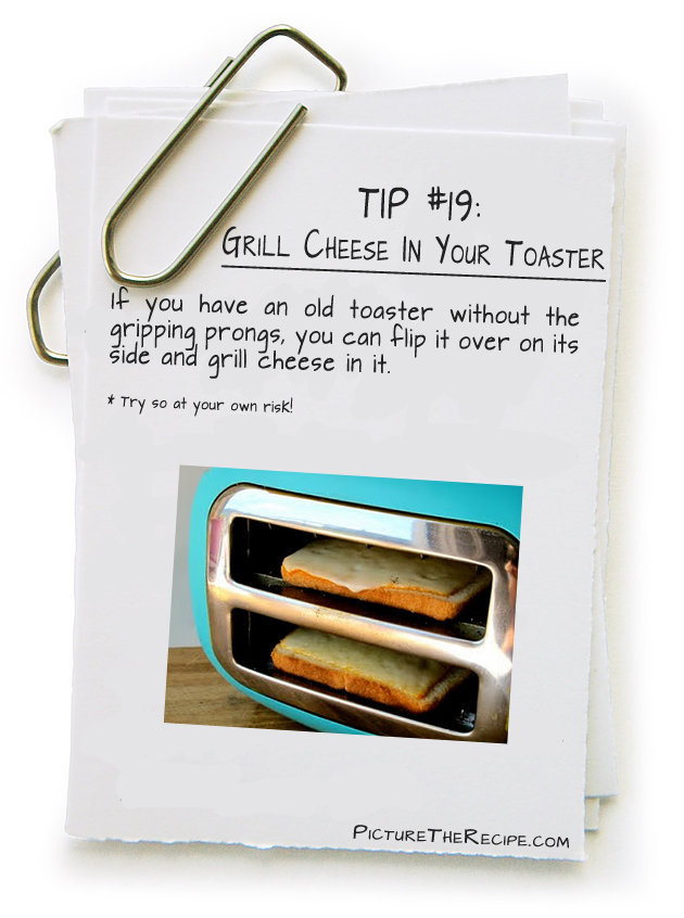 Grill Cheese in a Toaster  A Toaster