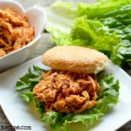 Chipotle Pepper Pulled Chicken Sandwich
