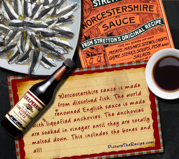 What Worcestershire Sauce Is Made Of Food Fact Worcestershire Sauce