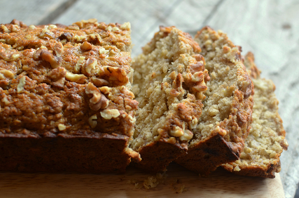 Honey Walnut Banana Bread