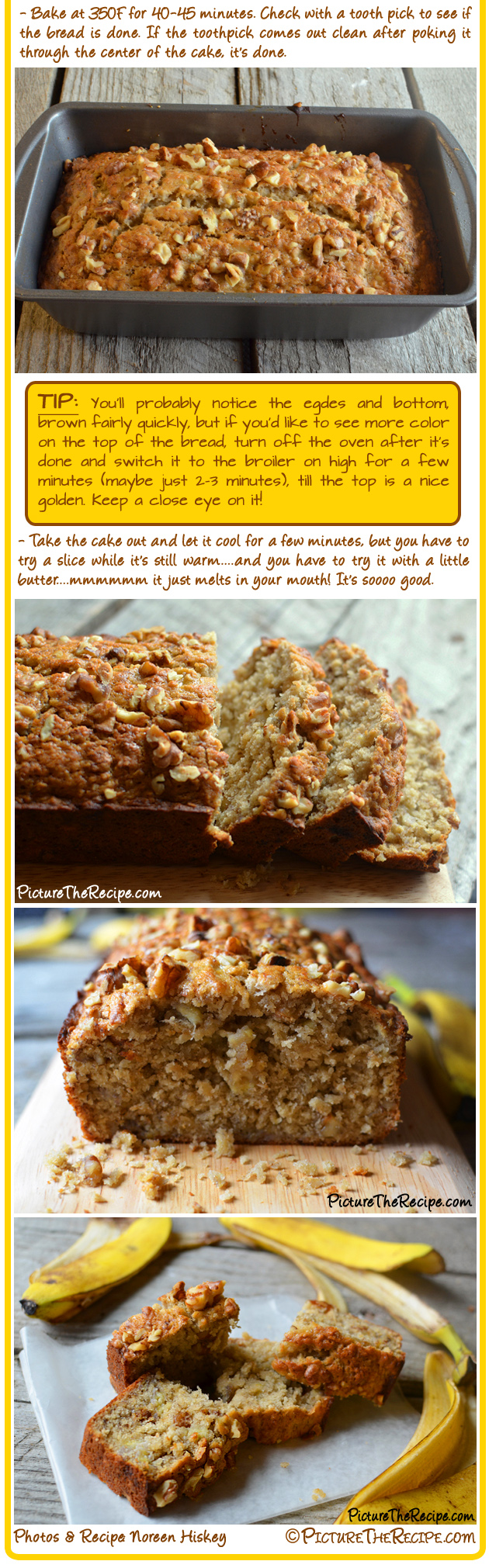 Honey walnut banana bread picture the recipe watch a video for this recipe forumfinder Choice Image