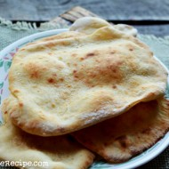 Indian Flatbread- Naan (without yeast)