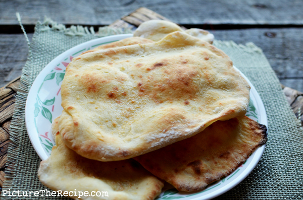 Indian flatbread naan without yeast picture the recipe its forumfinder