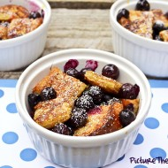 Blueberry and French-Toast Bake