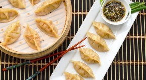 Lemongrass Chicken Pot Stickers