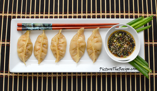 I served my Pot Stickers with a simple ...
