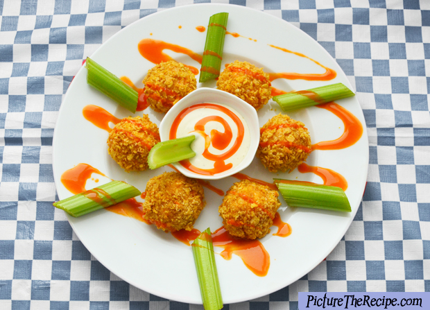 Game Day Snacks: Spicy Chicken Buffalo Bites