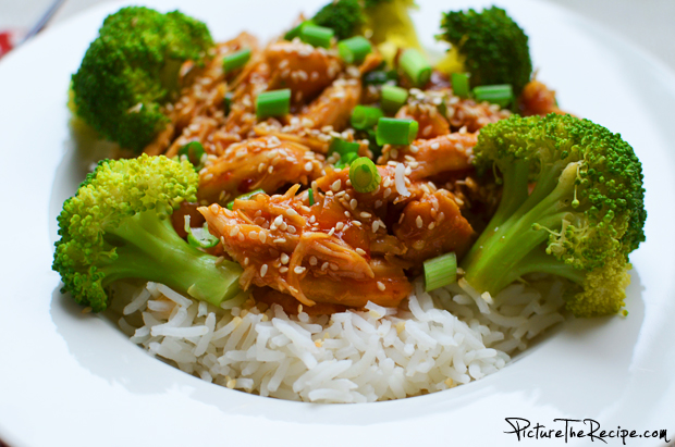 Recipe of honey sesame chicken