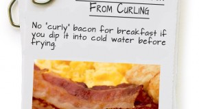 How To Keep Bacon From Curling