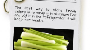 How To Store Celery