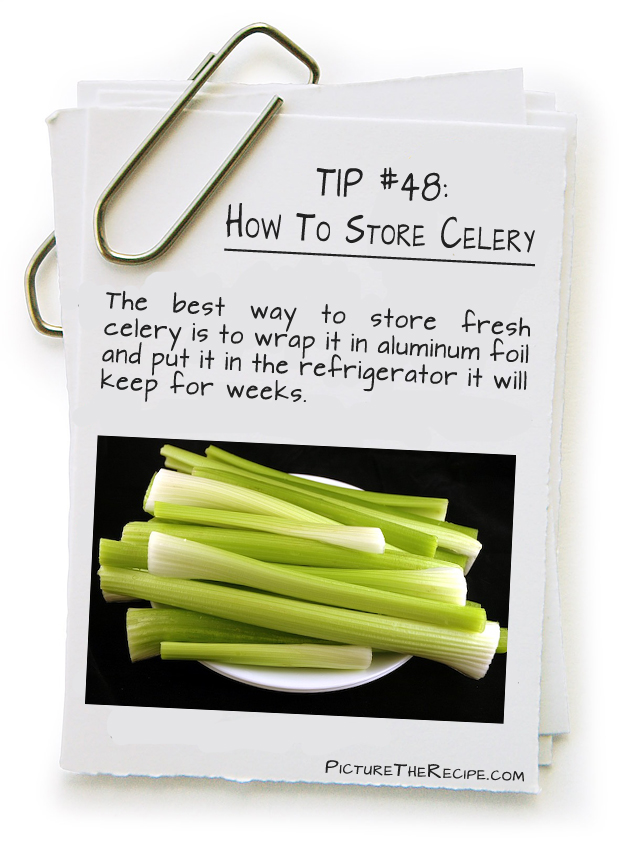How To Store Celery  Picture the Recipe