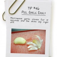 Peel Garlic Easily