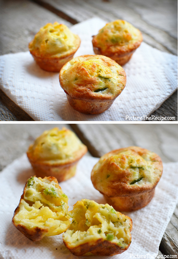 Cheesy Jalapeno Popovers- Super Bowl
