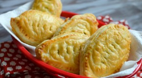 Game Day Snacks: Football Chicken Puffs