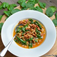 Curried Black-eyed Peas With Sausage and Spinach