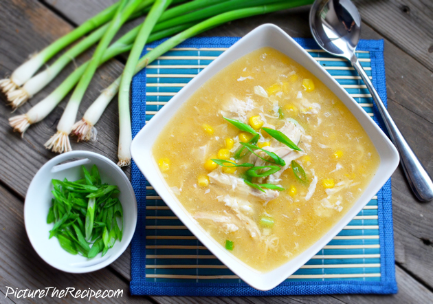 PTR Sweet Corn Chicken Soup