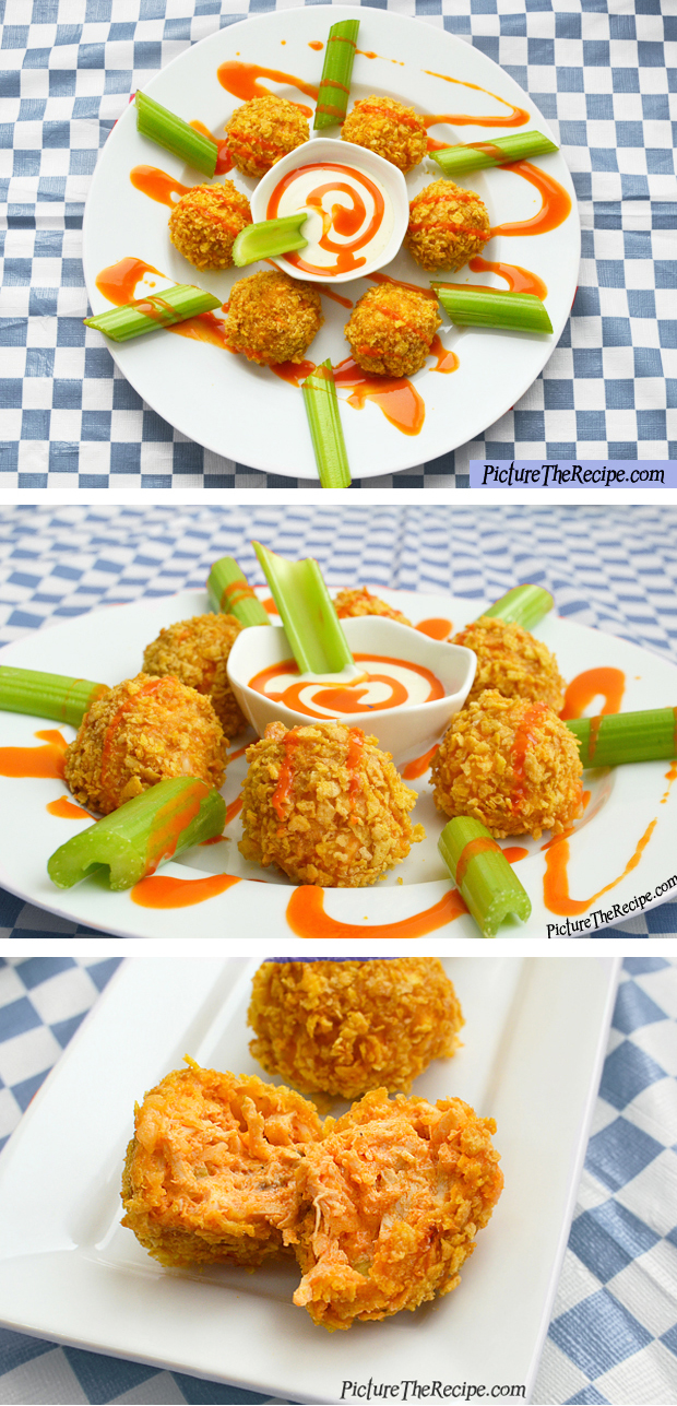 Spicy Buffalo Chicken Bites -Super Bowl