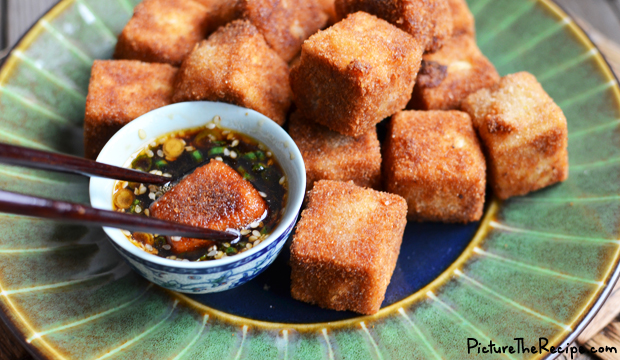 Crispy Fried Tofu with Five Spice-PTR