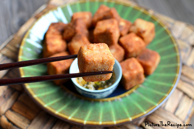 Crispy Fried Tofu with Five Spice | Picture the Recipe