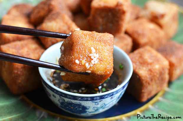 PTR-Crispy Fried Tofu with Five Spice