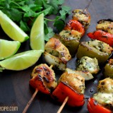 Cilantro-Lime Chicken Skewers