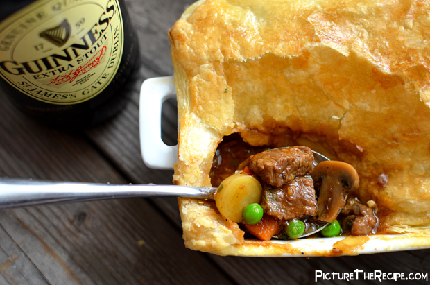 Guinness Beef Pot Pie Spoonful – PTR | Picture the Recipe
