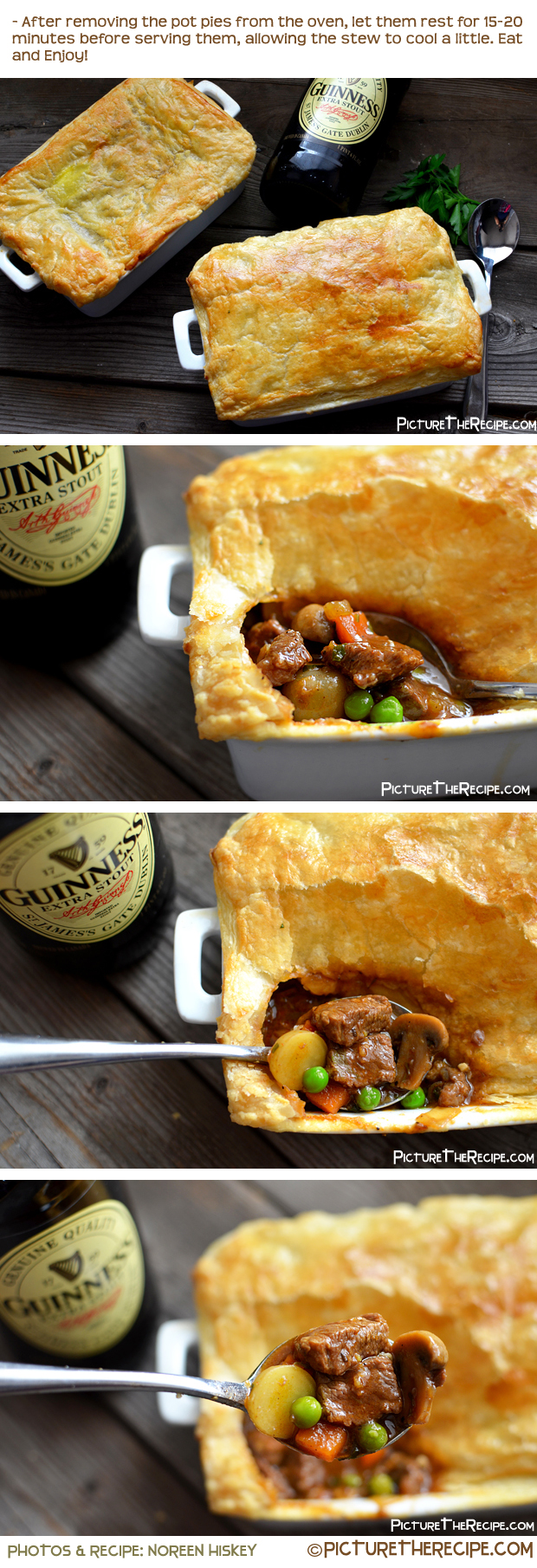 Guinness Beef Pot Pie by PictureTheRecipe