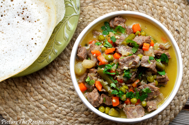 Aromatic Coconut Beef Stew ( Kerala Style) | Picture the Recipe