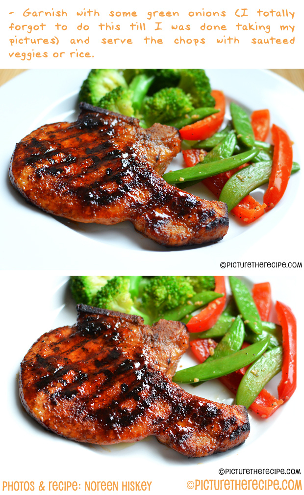 Sticky Sweet & Spicy Pork Chops Recipe