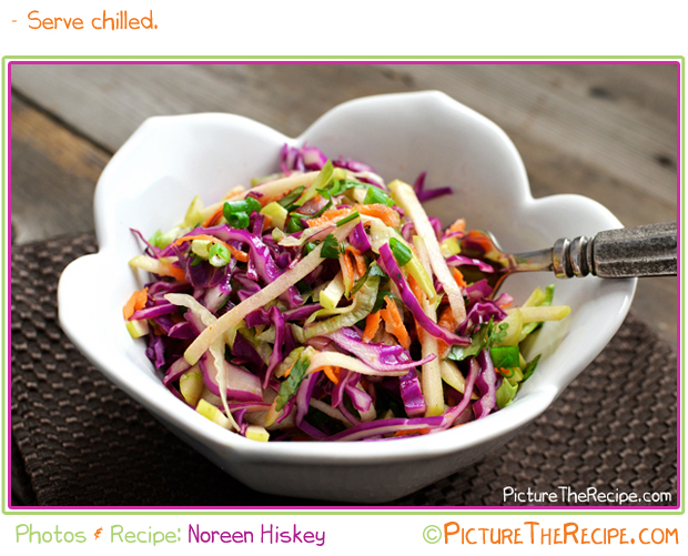 Apple- Cabbage Slaw by PictureTheRecipe
