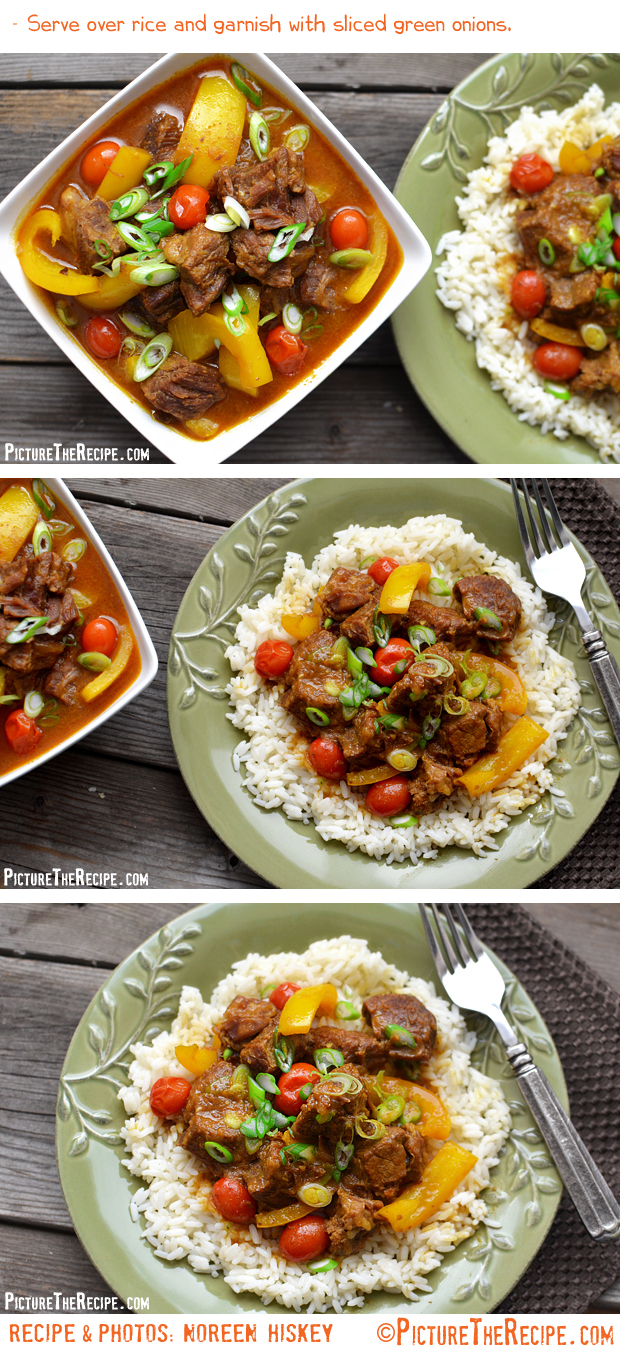Coconut Curry Beef by PictureTheRecipe