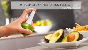 Genius Ideas- Citrus sprayer
