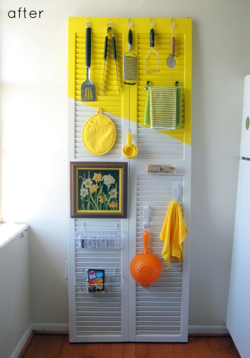 closet door for your kitchen