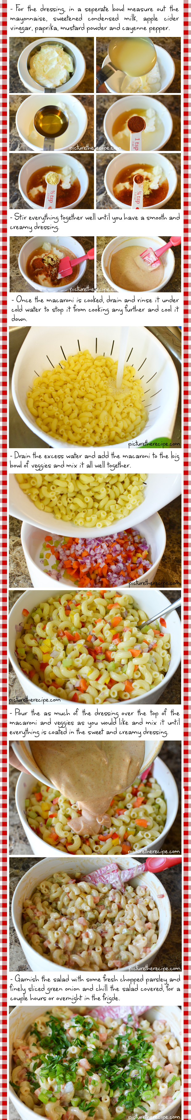 Sweet N Creamy Macaroni Salad Recipe- Part2