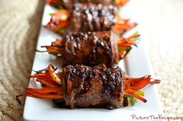 Balsamic Glazed Steak Rolls - PTR