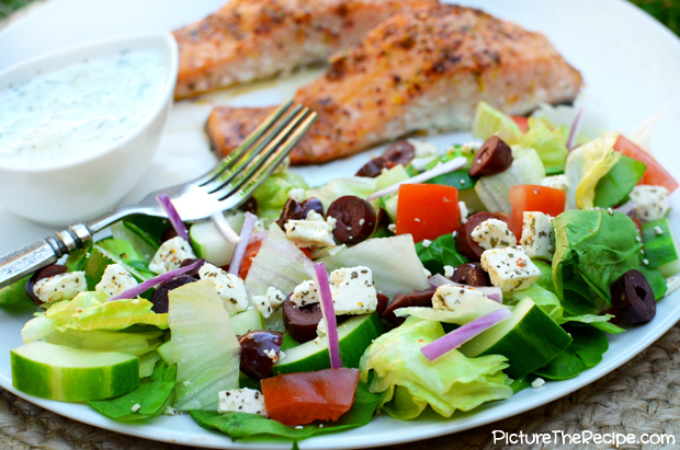 Greek Salad by PictureTheRecipe