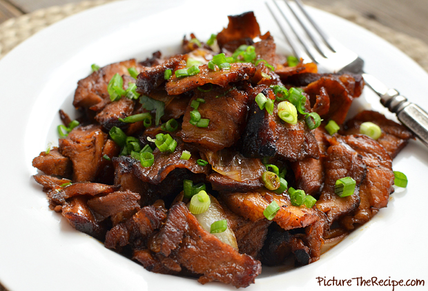 Sweet Caramelized Pork - PictureTheRecipe