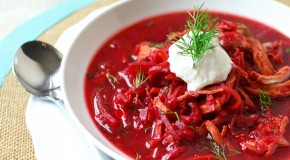 Beet and Chicken Soup (Borscht)