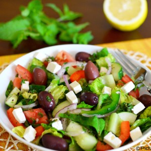 Turkish Salad by PictureTheRecipe