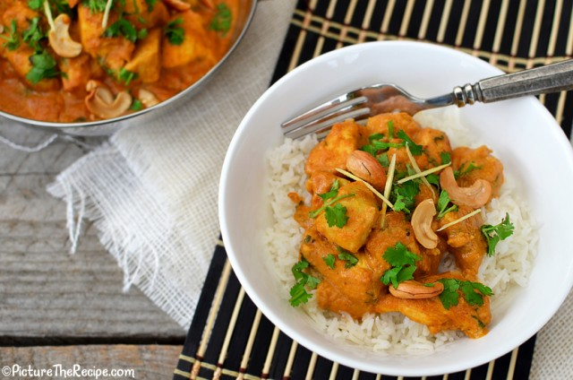 Cashew Chicken Curry by PictureTheRecipe