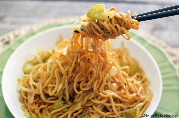 Chow Mein Noodles by PictureTheRecipe