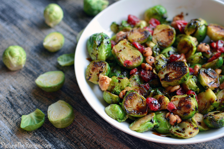 Brussel Sprouts by PictureTheRecipe